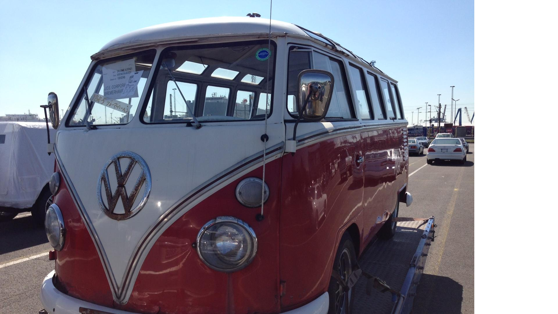 Volkswagen T1 Samba 23 Fenster, EZ 1962